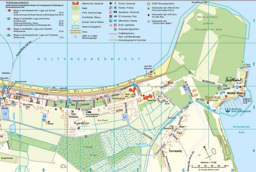 Ostseebad Boltenhagen Karte.Ortsplan