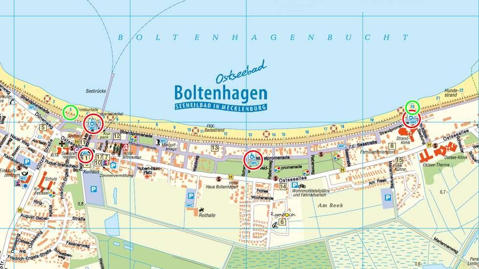 boltenhagen karte Boltenhagen Umgebung Karte | Deutschland Karte