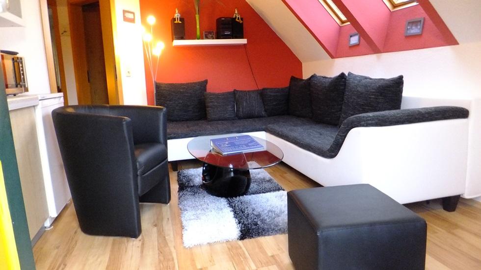 haus wohnzimmer oben:Ferienhaus am Dünenblick